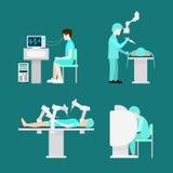 Επίπεδο hospita εγκεφάλου χειρουργικών επεμβάσεων ρομπότ επεξεργασίας ρομποτικό απεικόνιση αποθεμάτων
