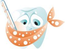επίπονο δόντι Στοκ Εικόνες