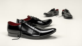επίσημα παπούτσια Στοκ εικόνα με δικαίωμα ελεύθερης χρήσης