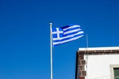 επίσημες αρχικές αναλογίες της Ελλάδας σημαιών Στοκ εικόνες με δικαίωμα ελεύθερης χρήσης