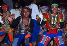 Χορευτές της Νότιας Αφρικής Ironman στοκ φωτογραφία με δικαίωμα ελεύθερης χρήσης