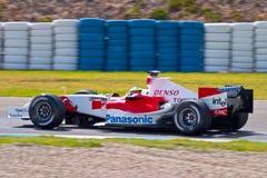Επίσημη περίοδος άσκησης της Formula 1, 2005 Στοκ εικόνα με δικαίωμα ελεύθερης χρήσης