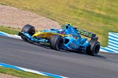Επίσημη περίοδος άσκησης της Formula 1, 2005 Στοκ φωτογραφία με δικαίωμα ελεύθερης χρήσης