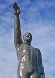 Επίσημος ολυμπιακός χαιρετισμός Στοκ φωτογραφία με δικαίωμα ελεύθερης χρήσης