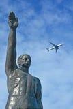 Επίσημος ολυμπιακός χαιρετισμός Στοκ εικόνα με δικαίωμα ελεύθερης χρήσης