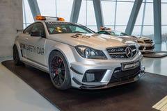 Επίσημο αυτοκίνητο Mercedes-Benz C63 AMG Coupe, 2012 DTM Safery Στοκ Εικόνες