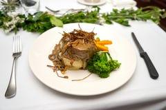 Επίσημο γεύμα Mignon λωρίδων στοκ φωτογραφία με δικαίωμα ελεύθερης χρήσης
