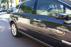 Επίσημο λογότυπο αυτοκινήτων κινηματογράφων φεστιβάλ των Καννών Στοκ φωτογραφίες με δικαίωμα ελεύθερης χρήσης