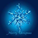 επίσης διανυσματικός χειμώνας προγραμμάτων Χριστουγέννων καρτών SnowFlake δαντελλών απεικόνιση αποθεμάτων