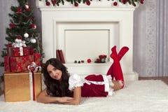 επίσης ως γνωστό χιόνι snegourochka της Ρωσίας κοριτσιών συλλογής κούκλα Στοκ Εικόνες