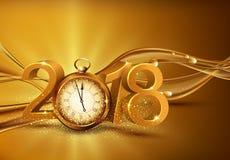 επίσης corel σύρετε το διάνυσμα απεικόνισης τρισδιάστατα χρυσά ψηφία 2018, με ένα παλαιό ρολόι inst διανυσματική απεικόνιση