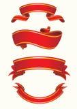 επίσης corel σύρετε το διάνυσμα απεικόνισης κόκκινο σύνολο κορδελλών Στοκ φωτογραφία με δικαίωμα ελεύθερης χρήσης