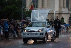 Επίσκεψη Ρουμανία Francisc μπαμπάδων στοκ εικόνες