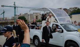 Επίσκεψη Ρουμανία Francisc μπαμπάδων στοκ εικόνες με δικαίωμα ελεύθερης χρήσης