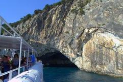 Επίσκεψη σπηλιών θάλασσας Στοκ Φωτογραφία