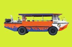 Επίσκεψη του λεωφορείου για τον τουρισμό Στοκ εικόνα με δικαίωμα ελεύθερης χρήσης