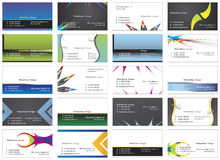 επίσκεψη 8 καρτών Στοκ Φωτογραφίες