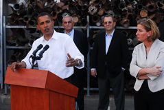 Επίσκεψη Obama Barack στο Ισραήλ Στοκ εικόνες με δικαίωμα ελεύθερης χρήσης