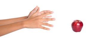 Επίτευξη για την κόκκινη Apple ΙΙ Στοκ Εικόνες