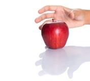 Επίτευξη για την κόκκινη Apple VII Στοκ εικόνες με δικαίωμα ελεύθερης χρήσης