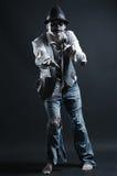 επίτευξη σε σας zombie Στοκ Εικόνες