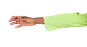 Επίτευξη χεριών παιδιών Στοκ Φωτογραφία