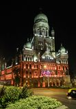 Επίτροπος BMC κτήριο σε Mumbai τη νύχτα στοκ φωτογραφία με δικαίωμα ελεύθερης χρήσης