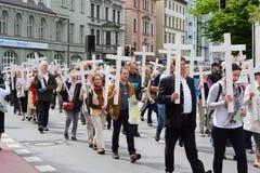 Επίδειξη αντι-άμβλωσης Στοκ Φωτογραφίες
