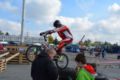 Επίδειξη 8 ικανότητας ποδηλάτων Στοκ Εικόνα
