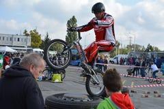 Επίδειξη 34 ικανότητας ποδηλάτων Στοκ Φωτογραφίες