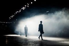 Επίδειξη μόδας, ένα γεγονός στενών διαδρόμων στοκ φωτογραφίες