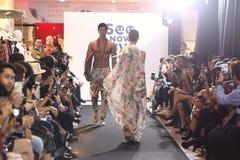 Επίδειξη μόδας της κοινωνίας μόδας ` Μπανγκόκ, BFS ` στο τμήμα Emquartier Στοκ φωτογραφία με δικαίωμα ελεύθερης χρήσης