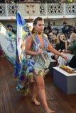 Επίδειξη μόδας της Camilla Στοκ Φωτογραφίες