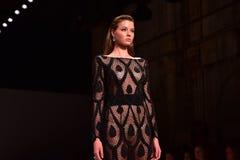 Επίδειξη μόδας του Steven Khalil Στοκ Φωτογραφίες