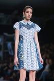 Επίδειξη μόδας Bipa: Aman, Ζάγκρεμπ, Κροατία Στοκ Εικόνες