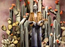 Επίδειξη παραθύρων σε Anthropologie σε NYC, ΗΠΑ Στοκ εικόνες με δικαίωμα ελεύθερης χρήσης