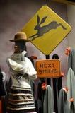 Επίδειξη παραθύρων σε Anthropologie σε NYC, ΗΠΑ Στοκ Φωτογραφίες