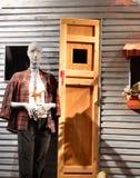 Επίδειξη παραθύρων σε Anthropologie σε NYC, ΗΠΑ Στοκ Φωτογραφία