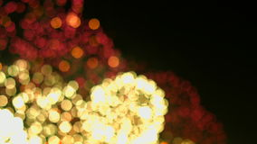 Επίδειξη πυροτεχνημάτων Πυροτεχνήματα φεστιβάλ 4K 30fps απόθεμα βίντεο