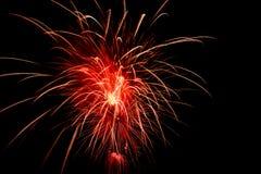Επίδειξη πυροτεχνημάτων Στοκ Φωτογραφίες
