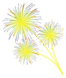 Επίδειξη πυροτεχνημάτων Στοκ Εικόνες
