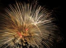 Επίδειξη της πυροτεχνουργίας Στοκ φωτογραφίες με δικαίωμα ελεύθερης χρήσης