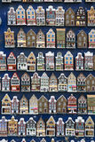 Επίδειξη του Άμστερνταμ, Κάτω Χώρες του μικροσκοπικού καναλιού Στοκ εικόνα με δικαίωμα ελεύθερης χρήσης