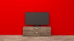 Επίδειξη TV Στοκ φωτογραφία με δικαίωμα ελεύθερης χρήσης