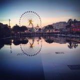 Επίδραση καθρεφτών στη Γαλλία Στοκ Εικόνα