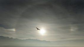 Επίδραση φωτοστεφάνου Στοκ εικόνα με δικαίωμα ελεύθερης χρήσης