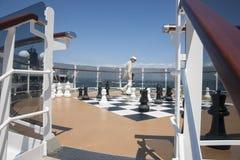 Επί του σκάφους σκάκι. Στοκ Εικόνες
