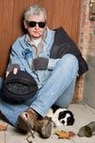 επαίτης τυφλός Στοκ φωτογραφία με δικαίωμα ελεύθερης χρήσης