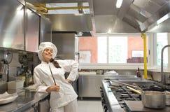 επαγγελματίας μαγείρων Στοκ Φωτογραφίες