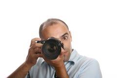 επαγγελματίας φωτογράφ&o Στοκ Φωτογραφίες